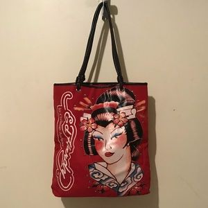 Ed Hardy Geisha Girl Bag